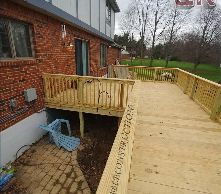 Deck Walkway